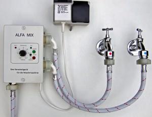 alfa mix vorschaltger t f r die waschmaschine und sp lmaschine alfamix waschmaschinen. Black Bedroom Furniture Sets. Home Design Ideas